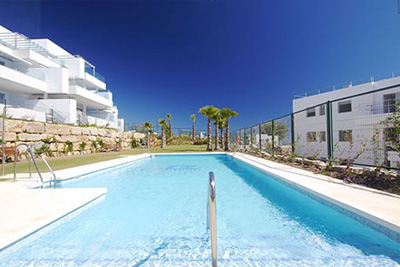 Stylishly super modern 3 bed and 3 bath apartment in Puerto de Cabopino for sale.